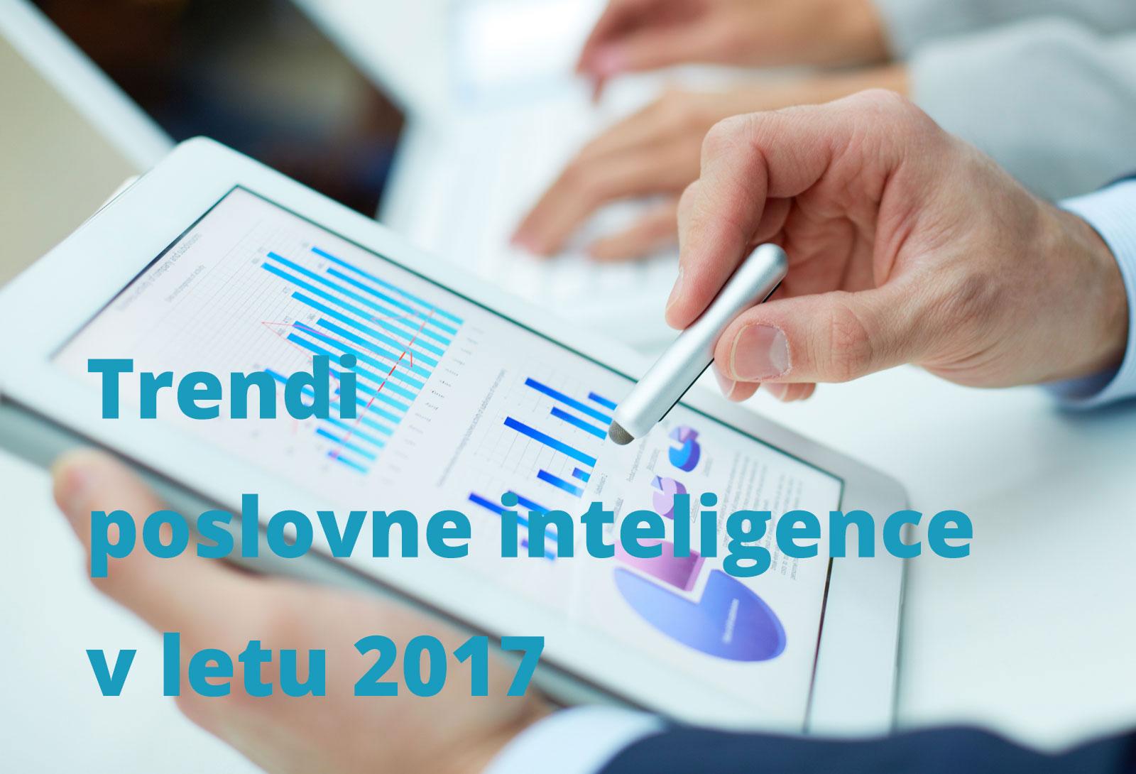 Podatkovna pismenost je BI trend 2017