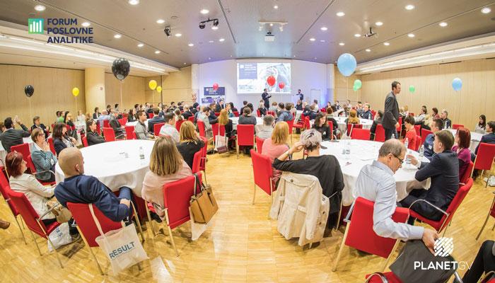 Forum poslovne analitike 2018 – postavljanje pravih vprašanj in izzivi