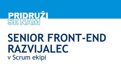 Senior Front-end razvijalec