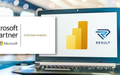 Result pridobil Microsoft-ovo kompetenco Gold Data Analytics